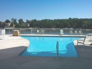 Osage Beach condo photo - Pool with a view