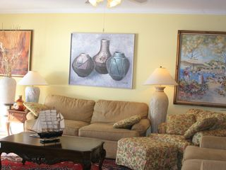 Bahia Vista I Ocean City condo photo - Living room