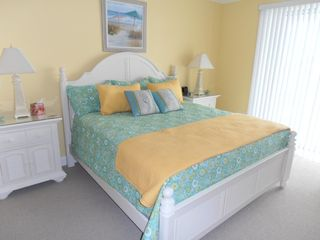 Belmont Towers Ocean City condo photo - Master Bedroom With King