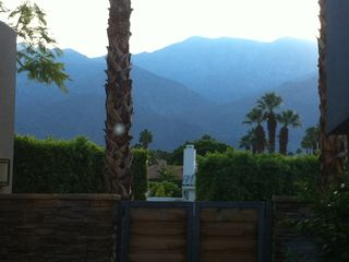 Palm Springs house photo - View from front porch