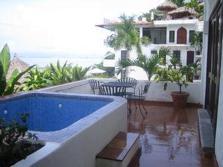 Puerto Vallarta condo photo - .Walkout from master bedroom.