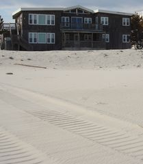 Brant Beach house photo - Plenty of Beach! Taken March 15, 2013 - after Sandy.