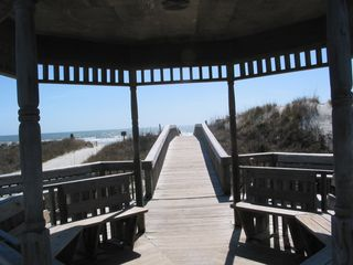 Sunset Beach condo photo - Gazebo