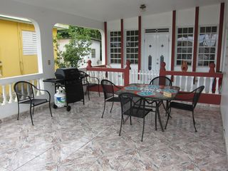 Aguada house photo - Patio Area (white doors open into Master Bedroom)
