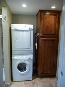 Fountain Hills condo rental - Laundry Room & Linen Closet.