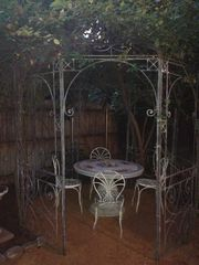 Pasadena studio photo - Private yard with gazebo.