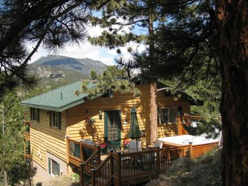 Estes Park house rental - Pine Cone Cabin - Your Mountain Home Away From Home