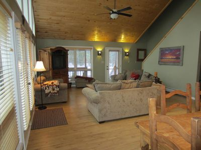 Cozy and spacious great room - Colorado Vacation Home - Pagosa Mountain Retreat