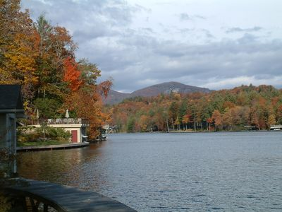 Lake Toxaway in the Fall
