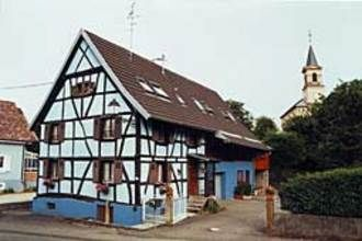 Beautifull Alsatian half-timbered house