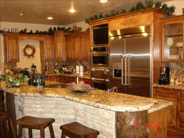 Gourmet Kitchen with top of the line appliances and much more...