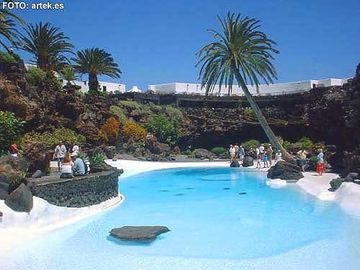 Pool at Jameos del Agua