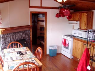 Point Judith cabin photo - Kitchen