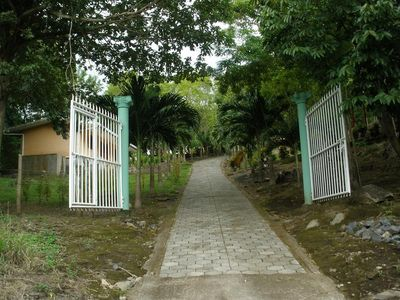 Quinta Linda Vista entrance.