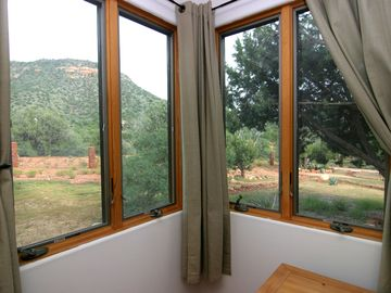View from 3rd bedroom overlooking national forest