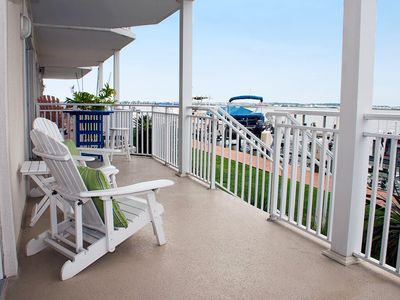 Relax As Boats Go By! Big Bayfront Near Boardwalk - Pool & Sunsets!
