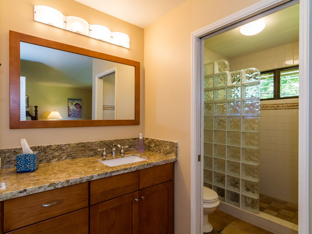 Master Bath With Separate Toilet
