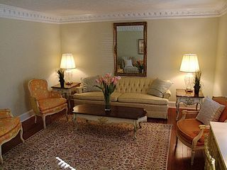 Stone Mountain house photo - Formal living room that seats eight comfortable,