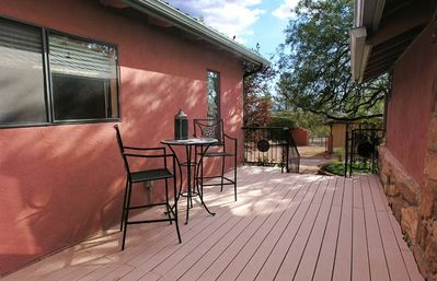 Sedona house rental - Outdoor Living Space