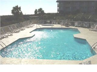 gated swimming pool - Isle of Palms condo vacation rental photo