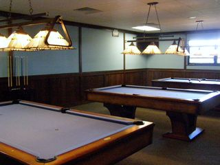 Arrowhead Lake house photo - Billiards Room in the new Lodge, which opened August 2012