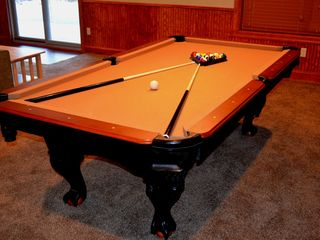 Lake Harmony chalet photo - 8 Ft Pool Table