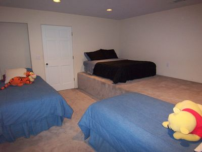 Kid's Room/2 Twin Beds and 1 Full Bed
