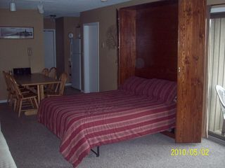 Findley Lake condo photo - Queen Murphy Bed