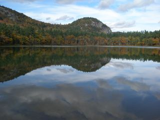 North Conway condo photo - View from the sandy shore of Echo Lake State Park just off Westside Rd.