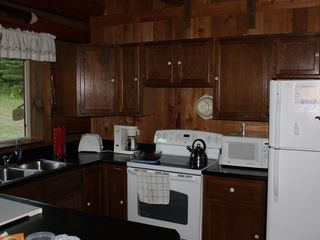 Noxon cabin photo - Full kitchen