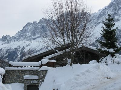 Apartment T2 skis on the slopes Chamonix valley.