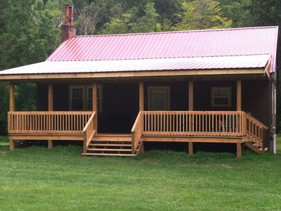Camp Critter's Newly Constructed Front Deck