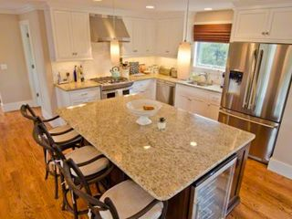 Katama house photo - Chef's Kitchen Features Breakfast Bar/Prep Island, Granite Countertops, Stainless Apppliances, Wine Refrigerator