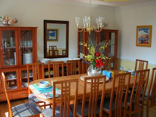 Ocean View villa photo - The separate dining room seats 10 for family dinners.