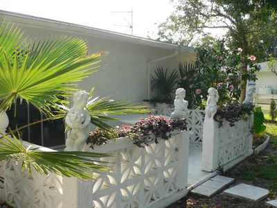 Punta Gorda house rental - Front Patio