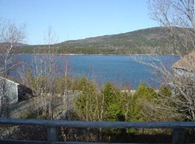 View of Somes Sound from the Deck
