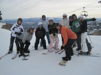 Family fun on the slopes at Park City Mountain Resort.
