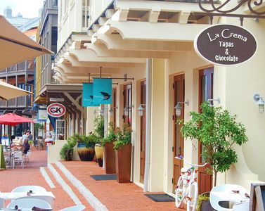 Just steps from shopping and dining in Rosemary Beach