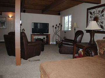 OPEN FLOOR PLAN IN UPSTAIRS FAMILY ROOM