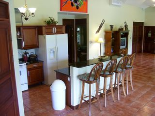 Playa Hermosa house photo - Kitchen has everything including pots and pans, dishes, coffee maker, spices...
