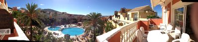 Los Cristianos apartment rental - Panoramic view from the Balcony