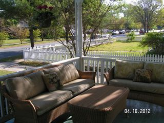 Cape Charles house photo - Nice, spacious, relaxing front porch