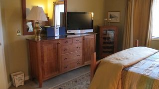 Bretton Woods townhome photo - Each bedroom has a TV.