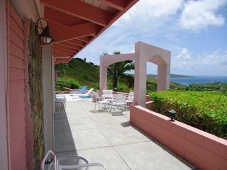 St. Croix villa photo - View from Guest Pavilion