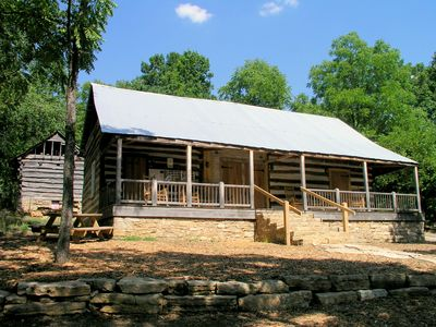 Log Cabin built in the 1840's, under restoration. Come visit!