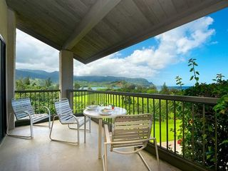 Princeville condo photo - Enjoy breakfast w/mountain vews & the ocean breeze