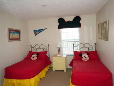 Mickey Themed Bedroom