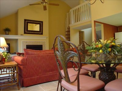 Each of our townhomes have beautifully accented furnishings . . .
