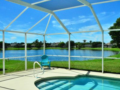 Fantastic location right on the lake, with pool and sun terrace on the west side