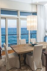 Inlet Beach house photo - view from dining room